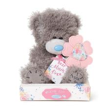 "7"" Holding Best Mum Flower Me to You Bear"