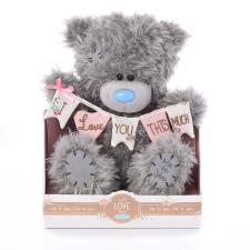 "9"" Love You Bunting Me to You Bear"