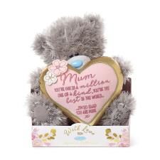 "9"" Mum One In A Million Padded Heart Me to You Bear"