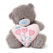 "10"" Best Mum Padded Heart Me to You Bear"