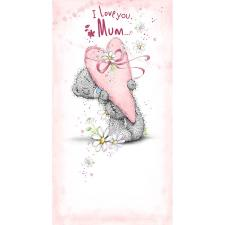 Mum Holding Large Heart Me to You Bear Mother's Day Card