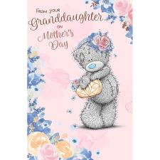 From Your Granddaughter Me to You Bear Mother's Day Card