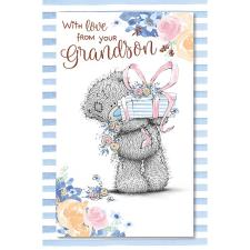 From Your Grandson Me to You Bear Mother's Day Card