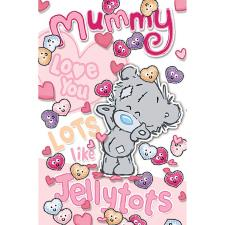 Mummy From Little Girl Me to You Bear Mother's Day Card