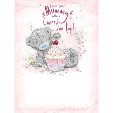 Mummy Cupcake Large Me to You Bear Mother's Day Card