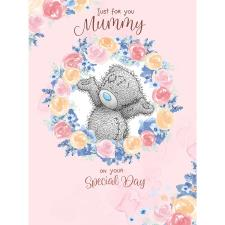 Just For You Mummy Large Me to You Bear Mother's Day Card