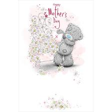 Tatty Teddy By Flower Stand Me to You Bear Mother's Day Card