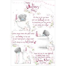 Mother's Day Verse Me to You Bear Mother's Day Card