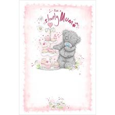 Lovely Mum Cake Stand Me to You Bear Mother's Day Card