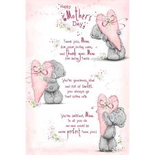 Mother's Day Mum Verse Me to You Bear Mother's Day Card