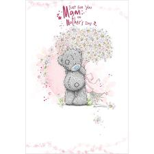 Just For You Mam Me to You Bear Mother's Day Card