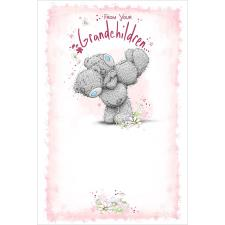 From Your Grandchildren Me to You Bear Mother's Day Card