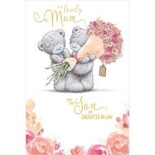 Mum From Son and Daughter In Law Me to You Bear Mother's Day Card