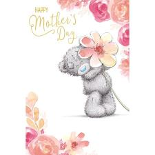 Tatty Teddy Holding Large Flower Me to You Bear Mother's Day Card