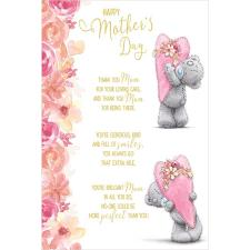 Hearts Verse Me to You Bear Mothers Day Card