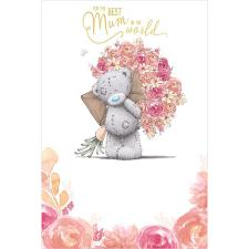 Best Mum In The World Me to You Bear Mother's Day Card