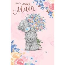 Lovely Mum Flower Bouquet Me to You Bear Mother's Day Card