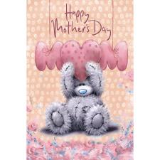 MUM Letters Softly Drawn Me to You Bear Mother's Day Card
