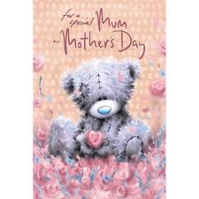 Special Mum Softly Drawn Me to You Bear Mother's Day Card