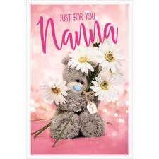 Just For You Nanna Me to You Bear Mother's Day Card