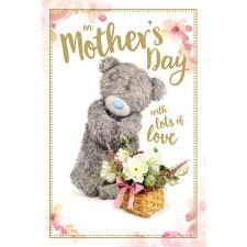 On Mother's Day Photo Finish Me to You Bear Mother's Day Card