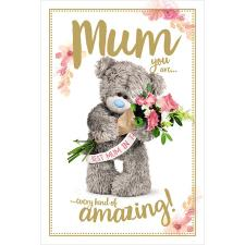 Mum You Are Amazing Me to You Bear Mother's Day Card