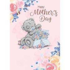 Tatty Teddy with Flower Box Me to You Bear Mother's Day Card