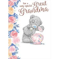 Very Special Great Grandma Me to You Bear Mother's Day Card