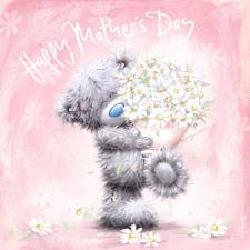 Happy Mother's Day Bear & Bouquet Me to You Mother's Day Card