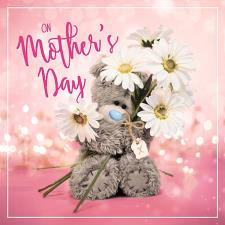 On Mother's Day With Daisies Me to You Bear Mother's Day Card