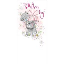 Tatty Teddy Holding Present Me to You Bear Mother's Day Card