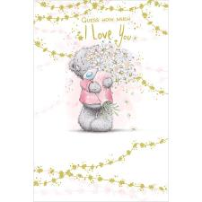 Guess How Much I Love You Me to You Bear Mother's Day Card