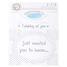 Thinking of You Occasions Verse & Greeting Insert
