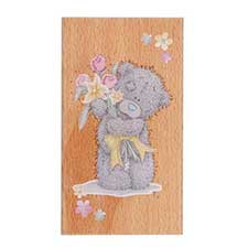 Spring Bouquet Me to You Bear Stamp