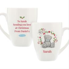 Personalised Me to You Christmas Latte Mug