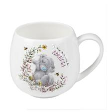 Personalised Me to You Bear Bees Rounded Mug