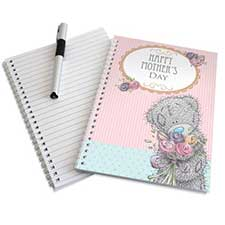 Personalised Me To You Bear Flowers A5 Notebook