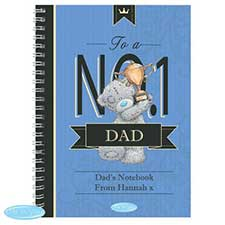 Personalised Me to You Bear No.1 A5 Paperback Notebook