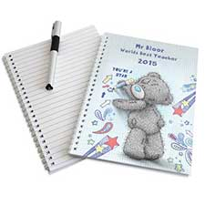 Personalised Me to You Bear A5 Notebook