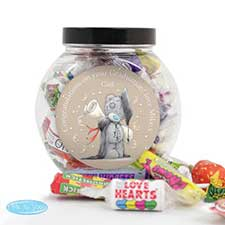 Personalised Me to You Bear Graduation 250g Sweet Jar