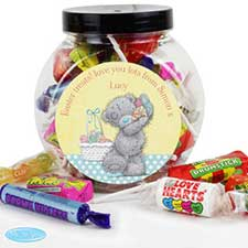 Personalised Me to You Bear Easter 250g Sweet Jar
