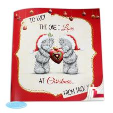Personalised Me to You Bear The One I Love at Christmas Book