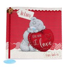 Personalised Me to You Bear One I Love Poem Book