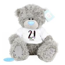 "Personalised 10"" Birthday Age Me to You Bear"