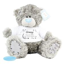 "Personalised 10"" Moon & Stars Me to You Bear"