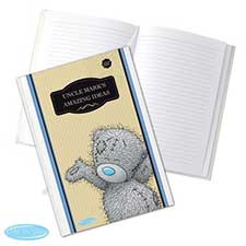 Personalised Me to You Bear For Him A5 Hardback Notebook