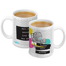 Personalised Me to You Bear Trendy Snapshot Mug