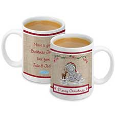Personalised Me to You Christmas Reindeer Mug