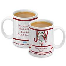 Personalised Me To You Christmas Joy Mug