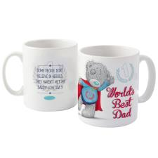 Personalised Me to You Bear Super Dad Mug